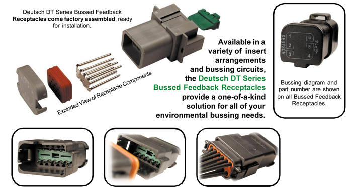 Deutsch Bussed Connector Representation